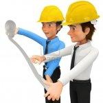 10595505-3d-architectes-ou-ingenieurs-regardant-blueprints--isole